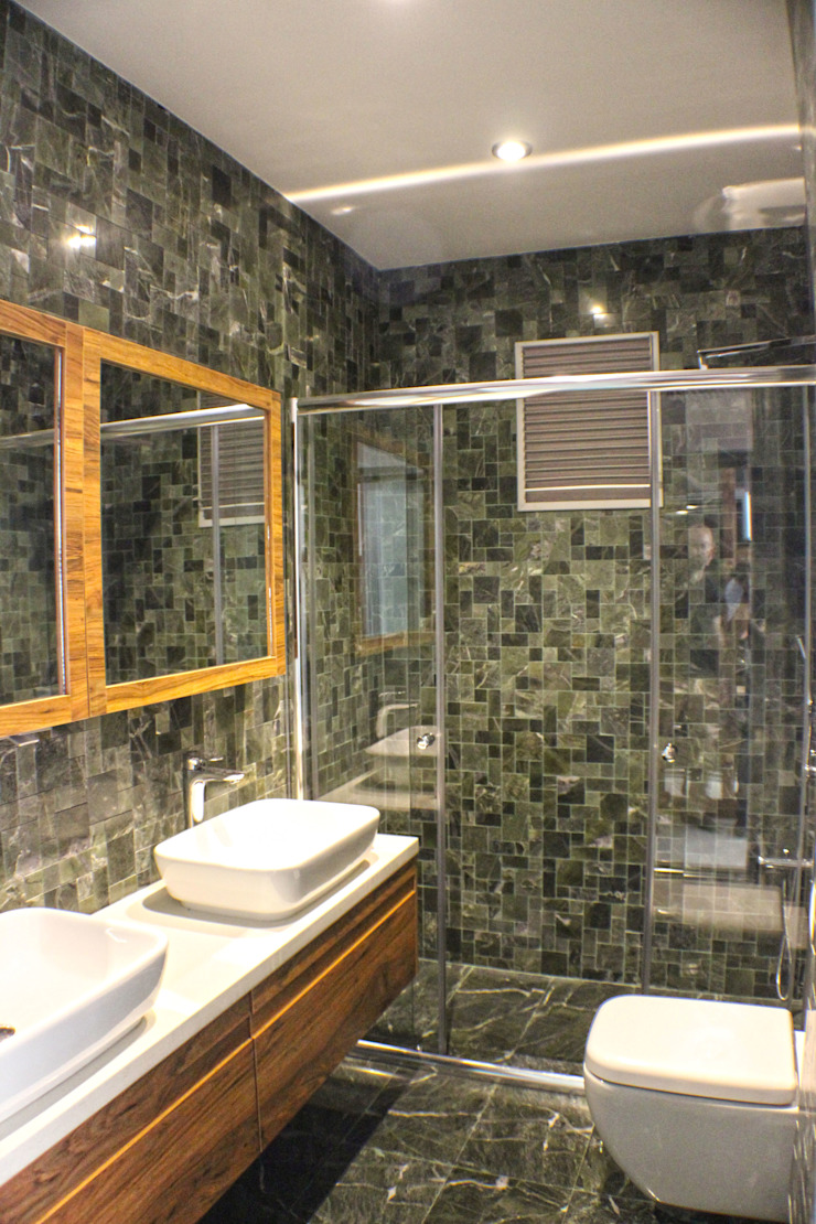 Yapı Fotografları-İç Modern Banyo Ayzen Dizayn Mimarlık Modern