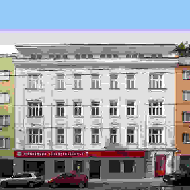 Wohnhaussanierung und Dachgeschoßausbau 1180 Wien, Kreuzgasse 29 Klassische Häuser von Timo Huber + Partner Architekten ZT-GmbH Klassisch