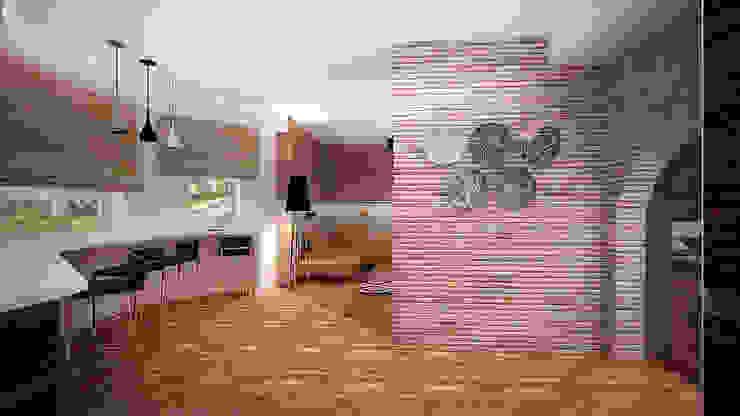 Коттедж в п. Грибки Столовая комната в стиле минимализм от дизайн-бюро ARTTUNDRA Минимализм