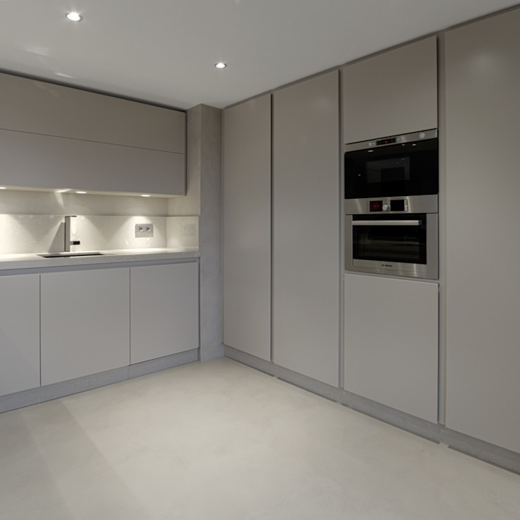 mae arquitectura Cocinas de estilo moderno