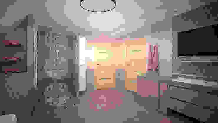 Коттедж в п. Грибки Ванная комната в стиле минимализм от дизайн-бюро ARTTUNDRA Минимализм