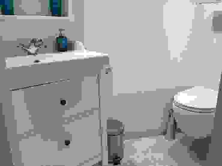 Nouvelle salle de bain Salle de bain moderne par L'Oeil DeCo Moderne
