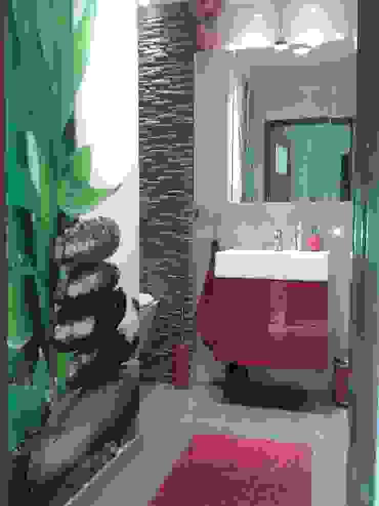 Mieszkanie na wynajem Nowoczesna łazienka od studio bonito Nowoczesny