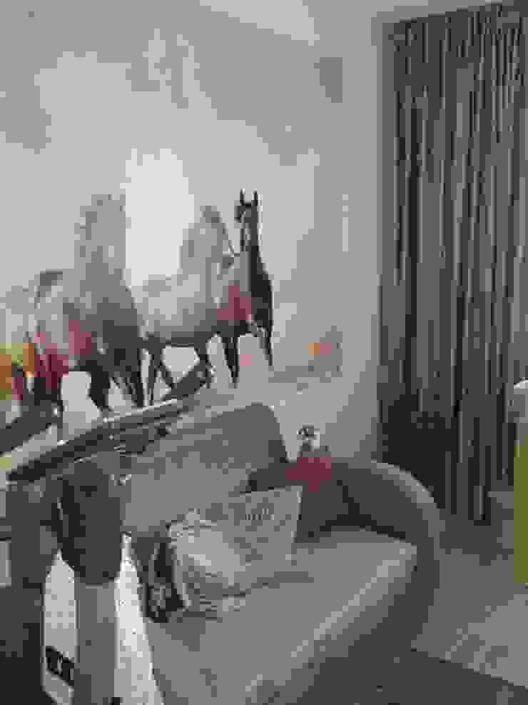 Mieszkanie na wynajem Nowoczesny pokój dziecięcy od studio bonito Nowoczesny