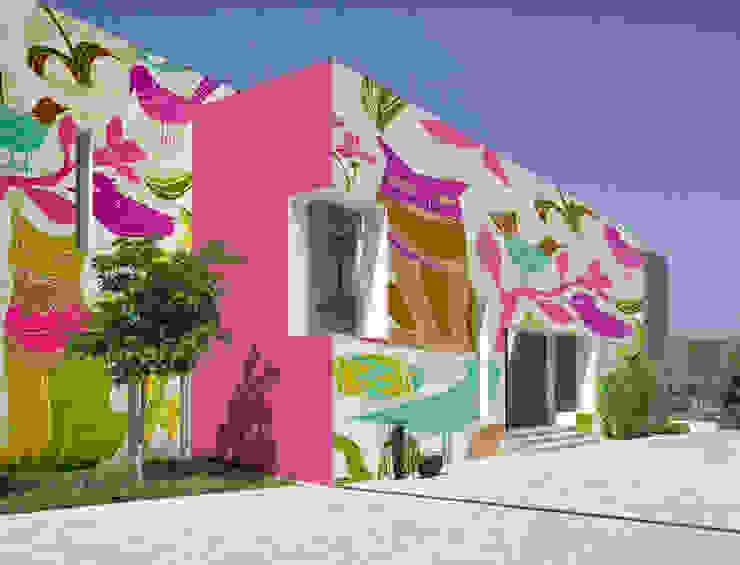 Decor Mapping Color Pareti & Pavimenti in stile industriale di Tech & Graphic Project Industrial