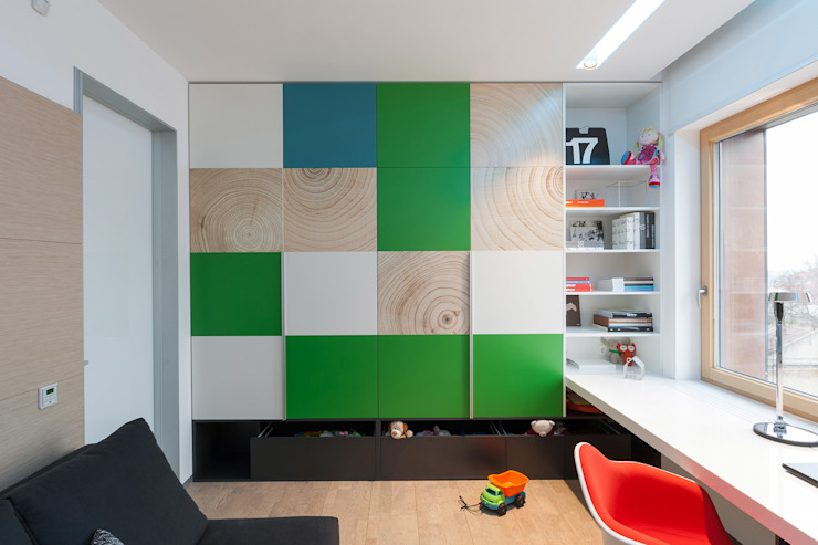 apartment V-21 Minimalist nursery/kids room by VALENTIROV&PARTNERS Minimalist