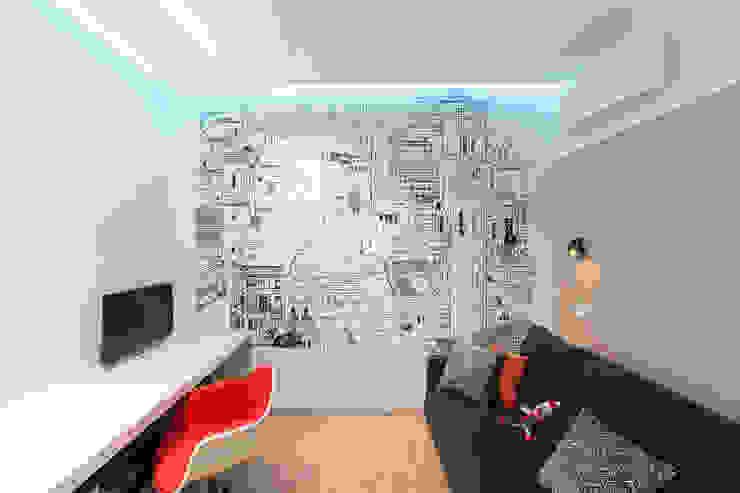 apartment V-21 Minimalistische Kinderzimmer von VALENTIROV&PARTNERS Minimalistisch