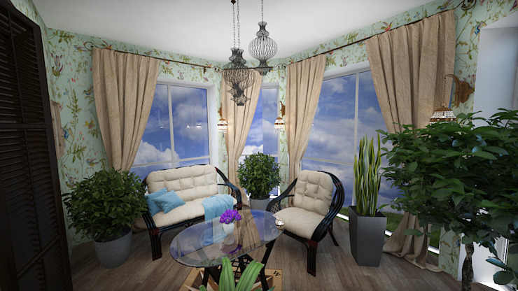Classic style conservatory by дизайн-бюро ARTTUNDRA Classic