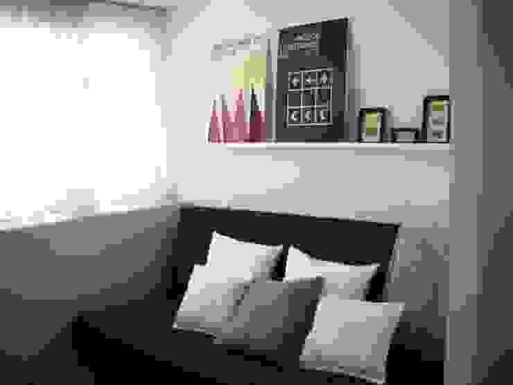 mae arquitectura Camera da letto moderna