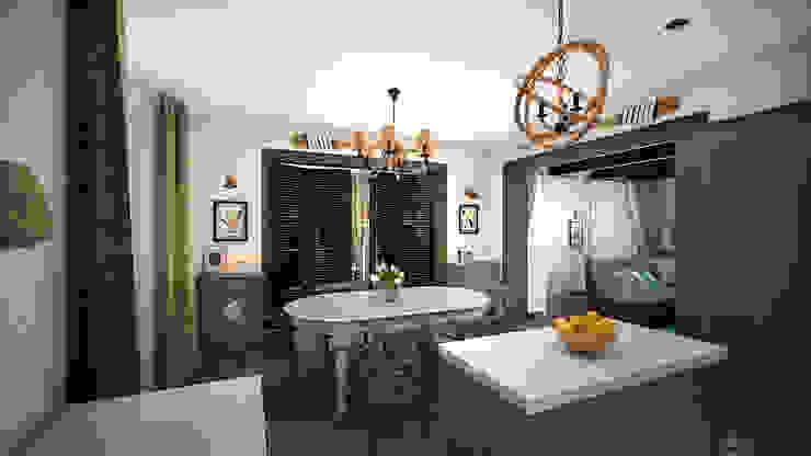 Коттедж в «Гайдпарк» Кухня в классическом стиле от дизайн-бюро ARTTUNDRA Классический