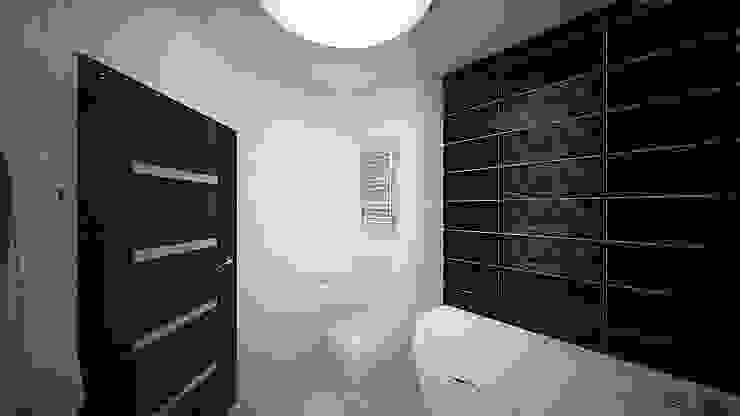 Из двухкомнатной в трехкомнатную. Проект квартиры в Балашихе. Ванная комната в стиле минимализм от дизайн-бюро ARTTUNDRA Минимализм