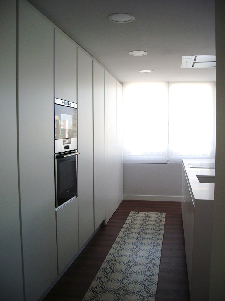 mae arquitectura Dapur Modern