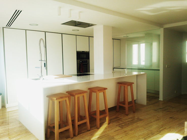 mae arquitectura ห้องครัว