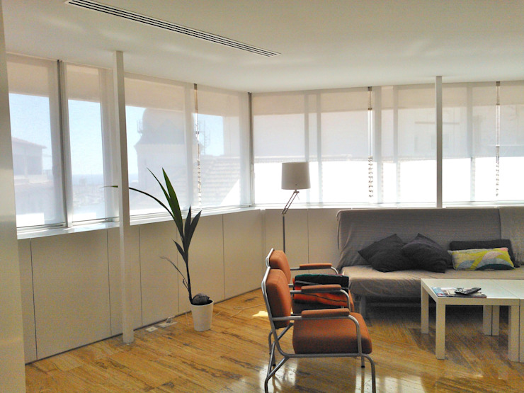 mae arquitectura Modern living room