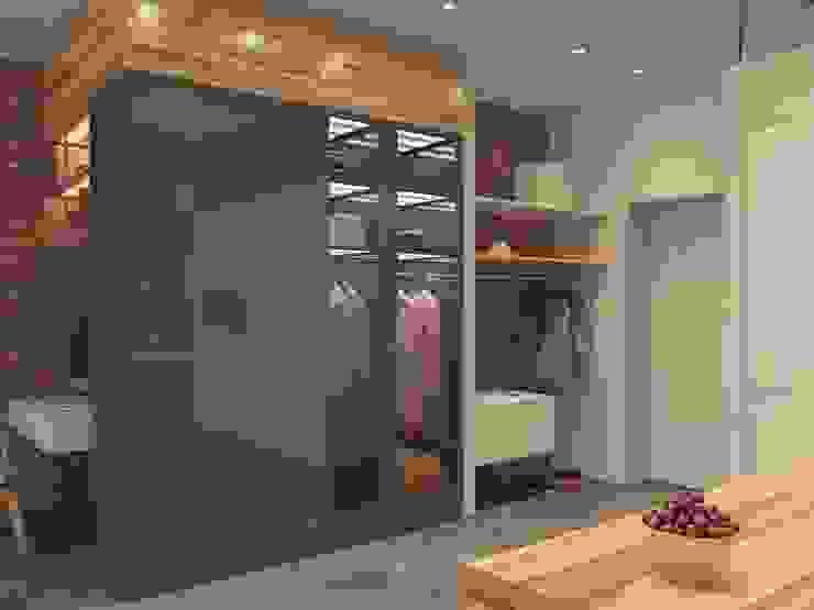 """Квартира """"дача"""" Коридор, прихожая и лестница в стиле лофт от Kristina Petraitis Design House Лофт"""