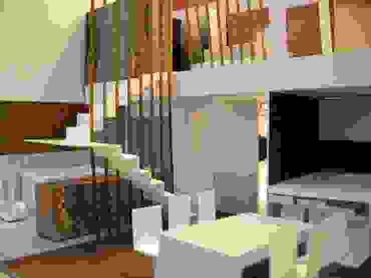 mae arquitectura Soggiorno moderno