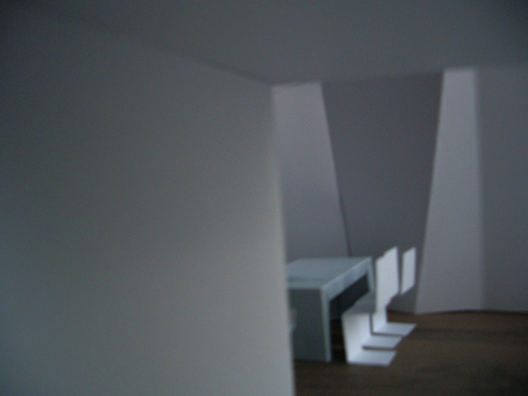 mae arquitectura Modern corridor, hallway & stairs