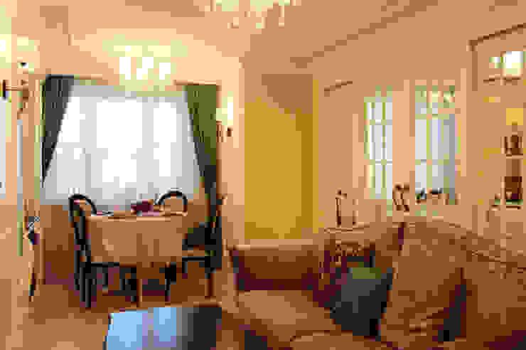 Фото интерьера гостиной-столовой в квартире Гостиная в классическом стиле от Дизайн студия Ольги Кондратовой Классический