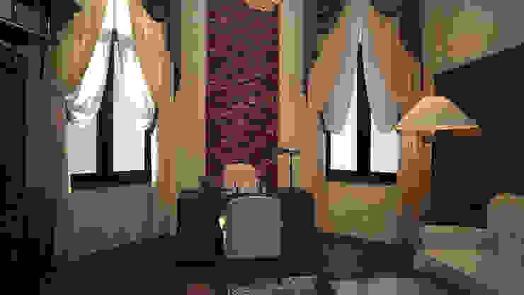 Интерьер кабинет- библиотеки. Николина гора Рабочий кабинет в классическом стиле от дизайн-бюро ARTTUNDRA Классический
