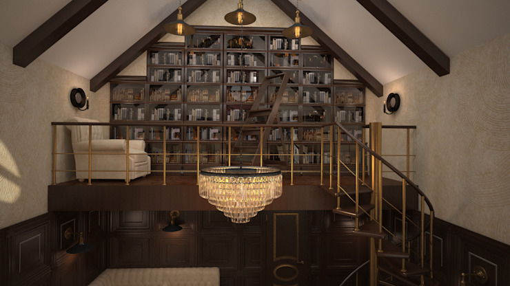 Oficinas de estilo clásico de дизайн-бюро ARTTUNDRA Clásico
