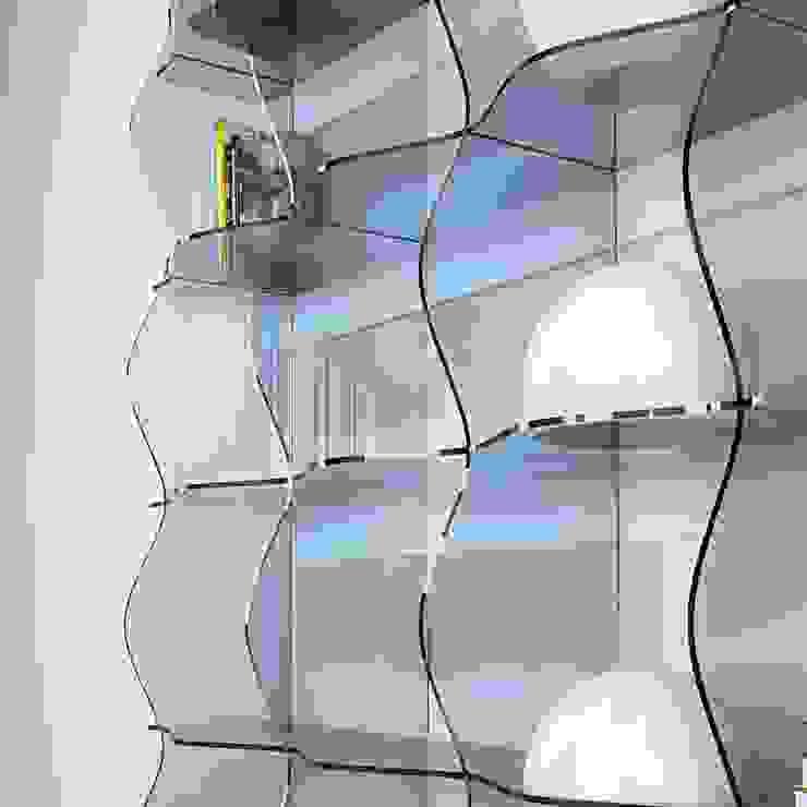 de 3dita - Digital Visual Motion Moderno Compuestos de madera y plástico