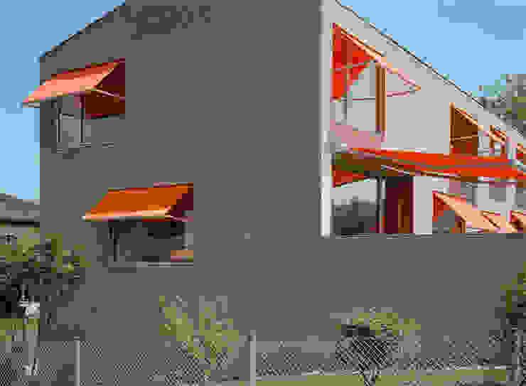 Neubau Doppeleinfamilienhaus Minimalistische Häuser von Gut Deubelbeiss Architekten AG Minimalistisch