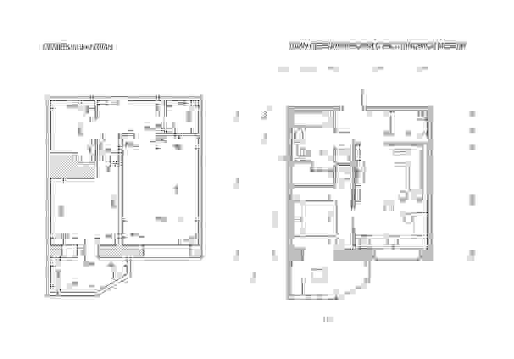 Интерьер квартиры ЖК «Алексеевская роща» от дизайн-бюро ARTTUNDRA Минимализм