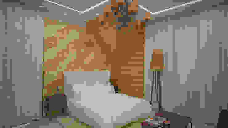 Коттедж п. Устиновка Спальня в классическом стиле от дизайн-бюро ARTTUNDRA Классический