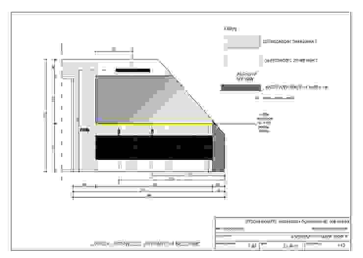Projekt łazienki przy sypialni od studio bonito