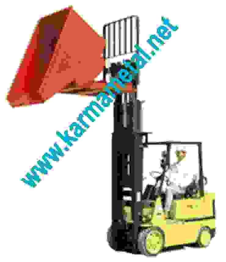 KARMA METAL -Forklift Devirme Tertibatlı Konteyner Endüstriyel Mutfak KARMA METAL Endüstriyel