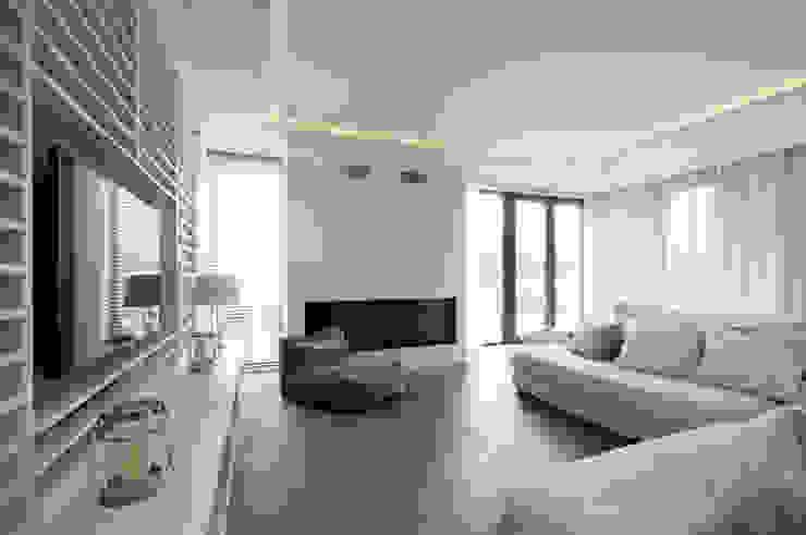 Livings de estilo moderno de 3deko Moderno