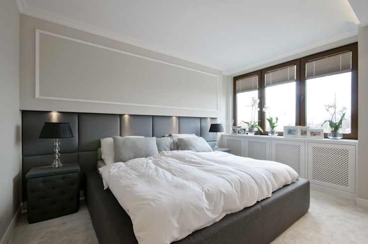 Dormitorios de estilo moderno de 3deko Moderno