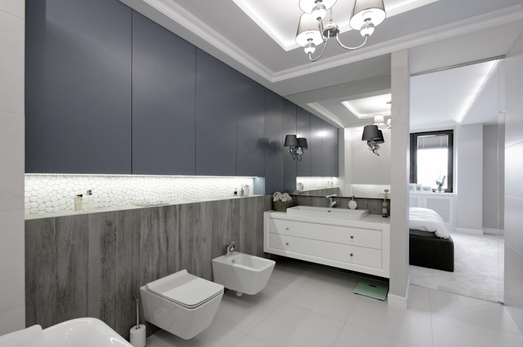 Baños de estilo moderno de 3deko Moderno