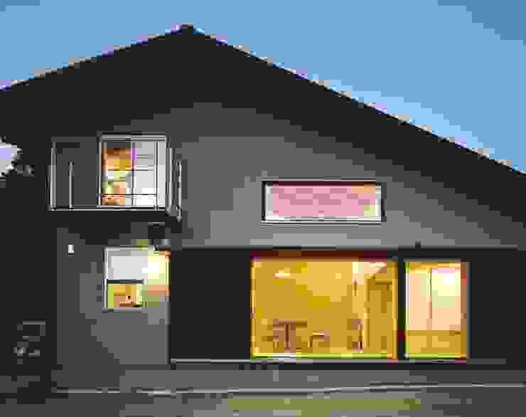 夜景 オリジナルな 家 の 松デザインオフィス オリジナル