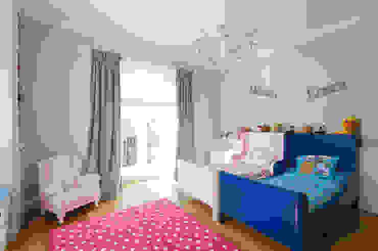 Dom w Wilanowie Nowoczesny pokój dziecięcy od 3deko Nowoczesny