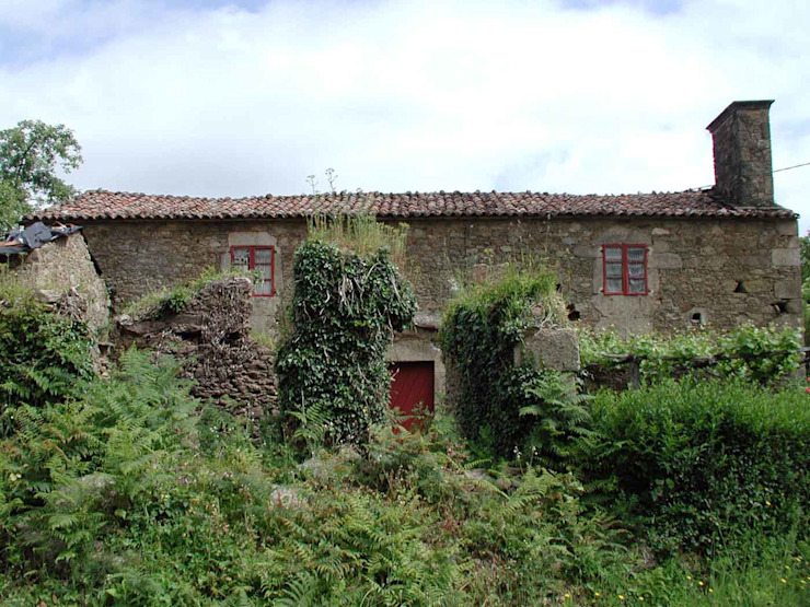 Estado previo-01 Casas de estilo rural de Intra Arquitectos Rural