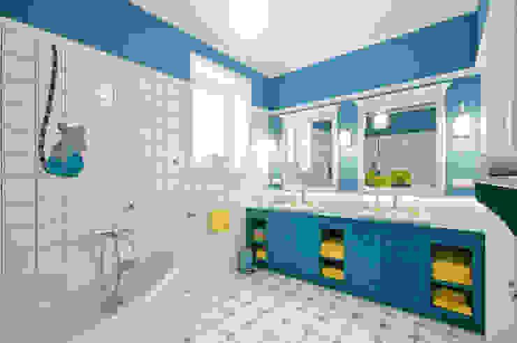 Dom w Wilanowie Nowoczesna łazienka od 3deko Nowoczesny