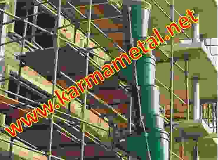 KARMA METAL - Moloz Atma Dökme Kulesi Ve Bacasi Endüstriyel Balkon, Veranda & Teras KARMA METAL Endüstriyel