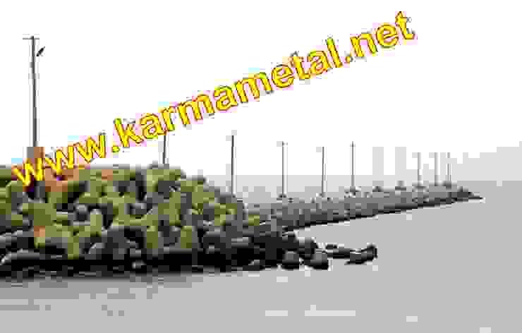 KARMA METAL-Tetrapod Kalıbı Tetrapot İmalatı ve Üretimi Endüstriyel Multimedya Odası KARMA METAL Endüstriyel
