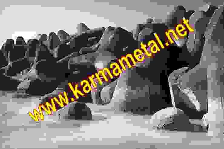 KARMA METAL-Tetrapod Kalıbı Tetrapot İmalatı ve Üretimi Endüstriyel Banyo KARMA METAL Endüstriyel