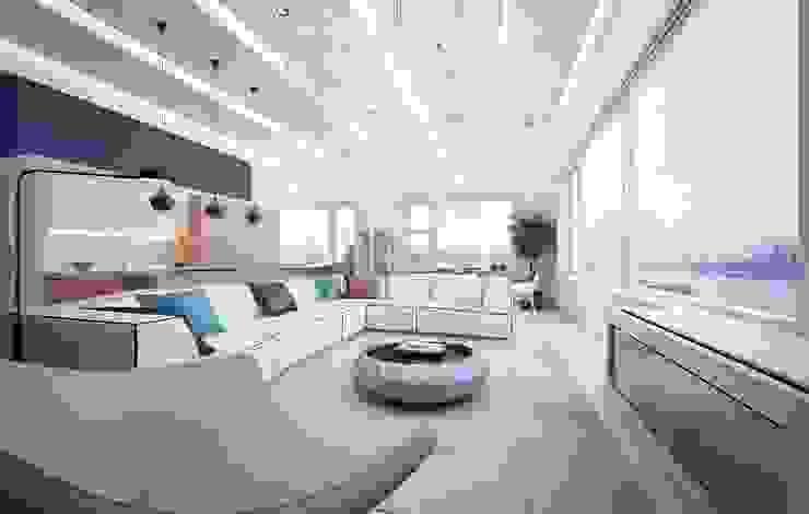 Modern Living Room by KAPRANDESIGN Modern