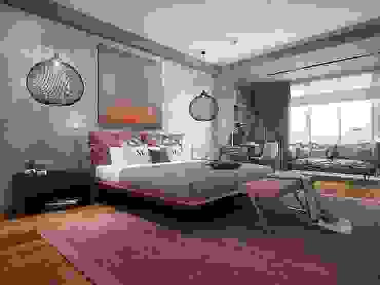 Bakı Спальня в стиле лофт от KAPRANDESIGN Лофт