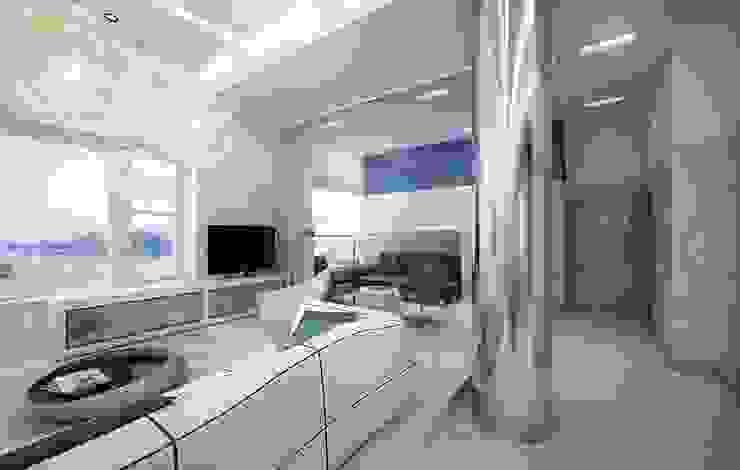 Hudson St Гостиная в стиле модерн от KAPRANDESIGN Модерн