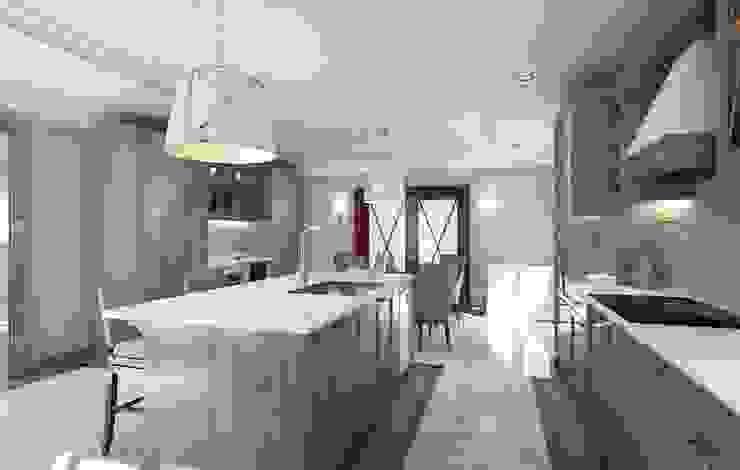 Douglaston, NY. 2015 Кухня в классическом стиле от KAPRANDESIGN Классический