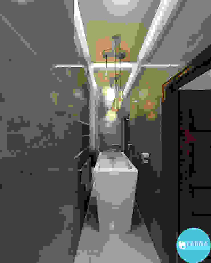 Sonatina Nowoczesna łazienka od Tarna Design Studio Nowoczesny