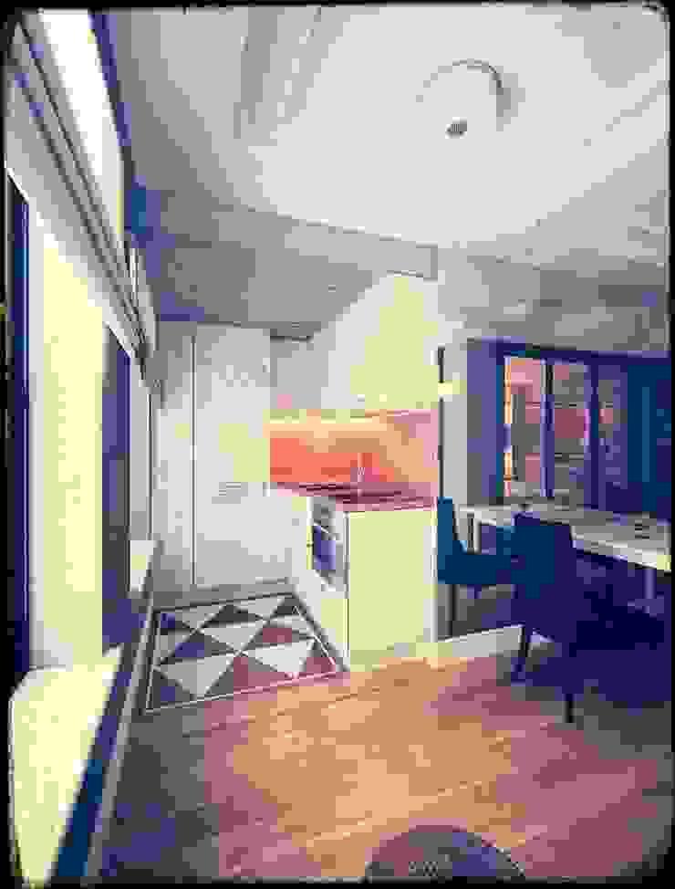 Kill Bill. New York. 2014 Кухня в стиле минимализм от KAPRANDESIGN Минимализм