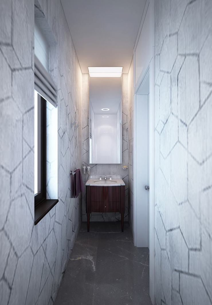 Tropical style bathrooms by KAPRANDESIGN Tropical