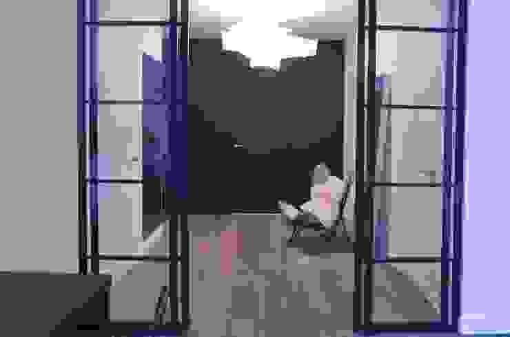 Minimal style window and door by MG Interior Studio Michał Głuszak Minimalist