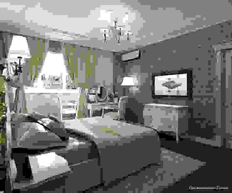Квартира в г. Киров Спальня в классическом стиле от Елена Овсянникова Классический