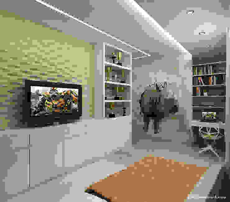 Квартира в г. Киров Гостиная в классическом стиле от Елена Овсянникова Классический
